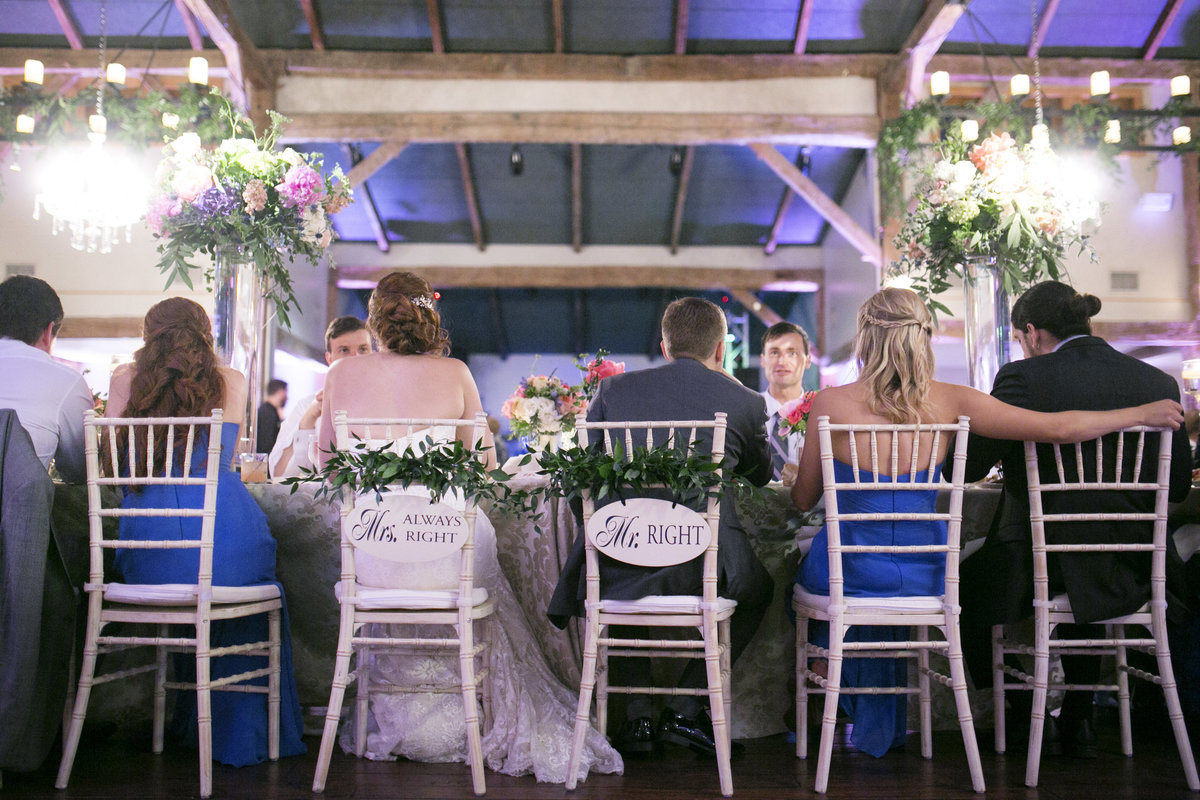 Colorful and Cheerful Hill Country Wedding Reception (6)