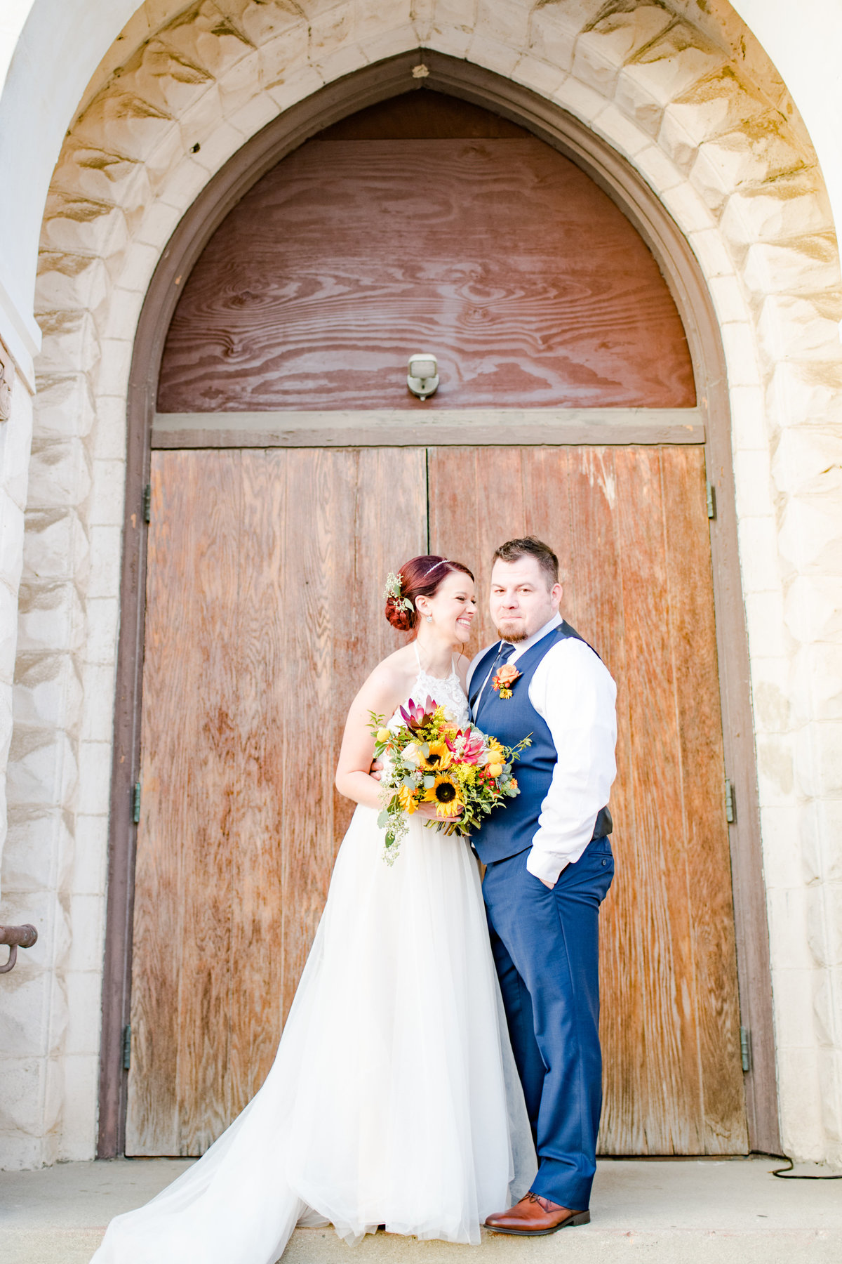 Urban Artifact Brewery Colorful Fall Wedding-177