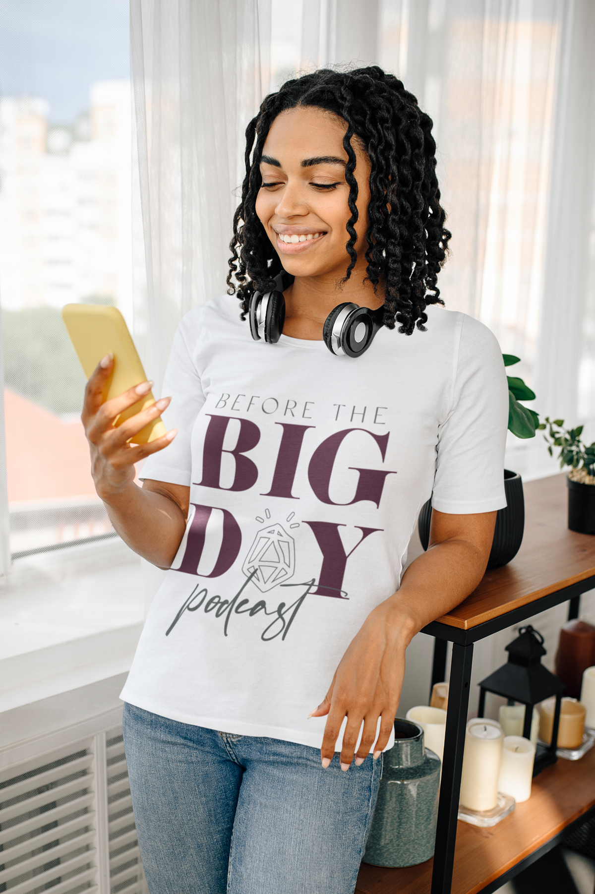 basic-t-shirt-mockup-of-a-young-woman-listening-to-music-at-home-39368-r-el2