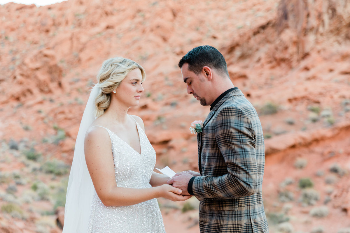 Valley of Fire Elopement - Ivette West Photography