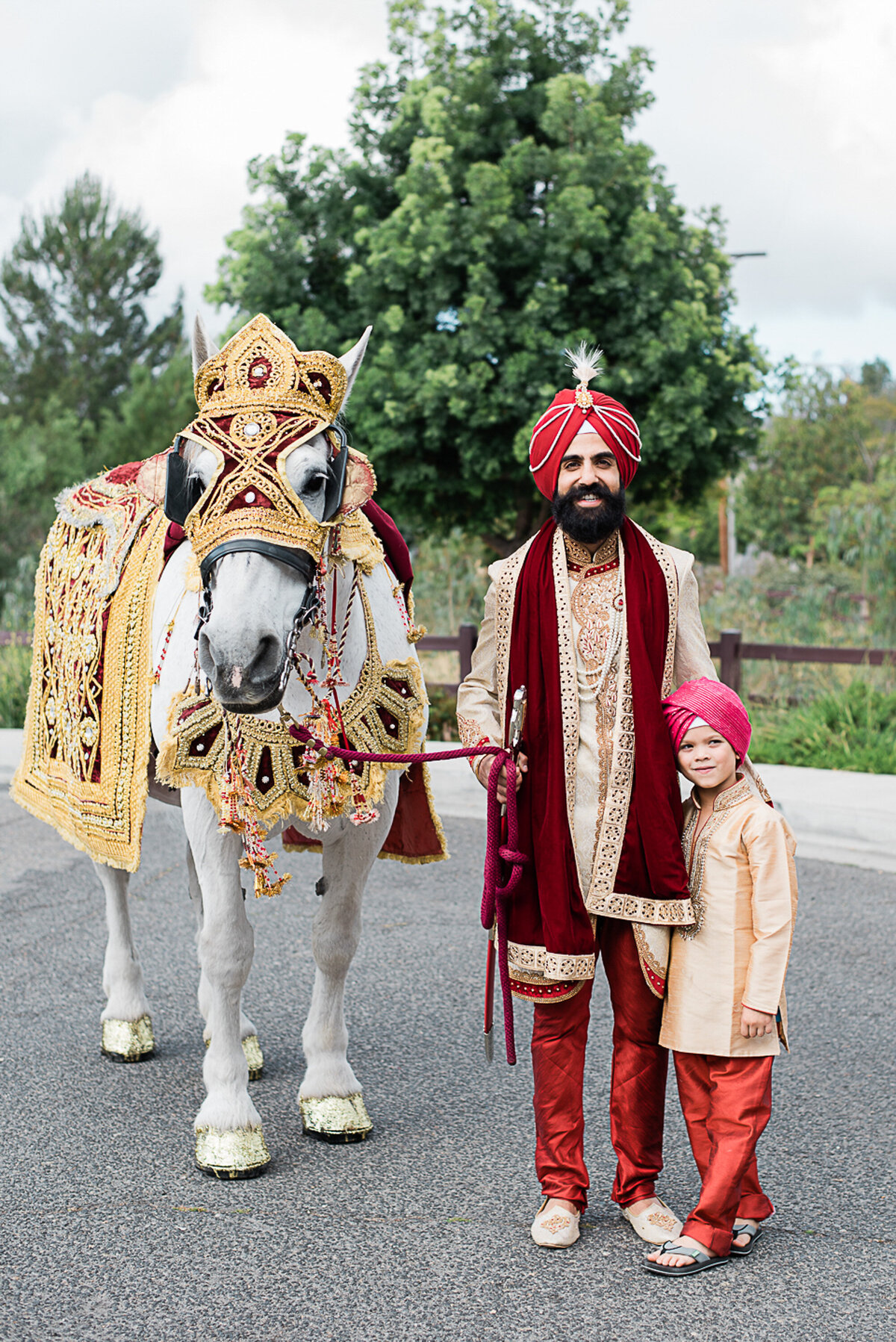 Indian Wedding Sikh Groom San Diego Wedding Photographer-1