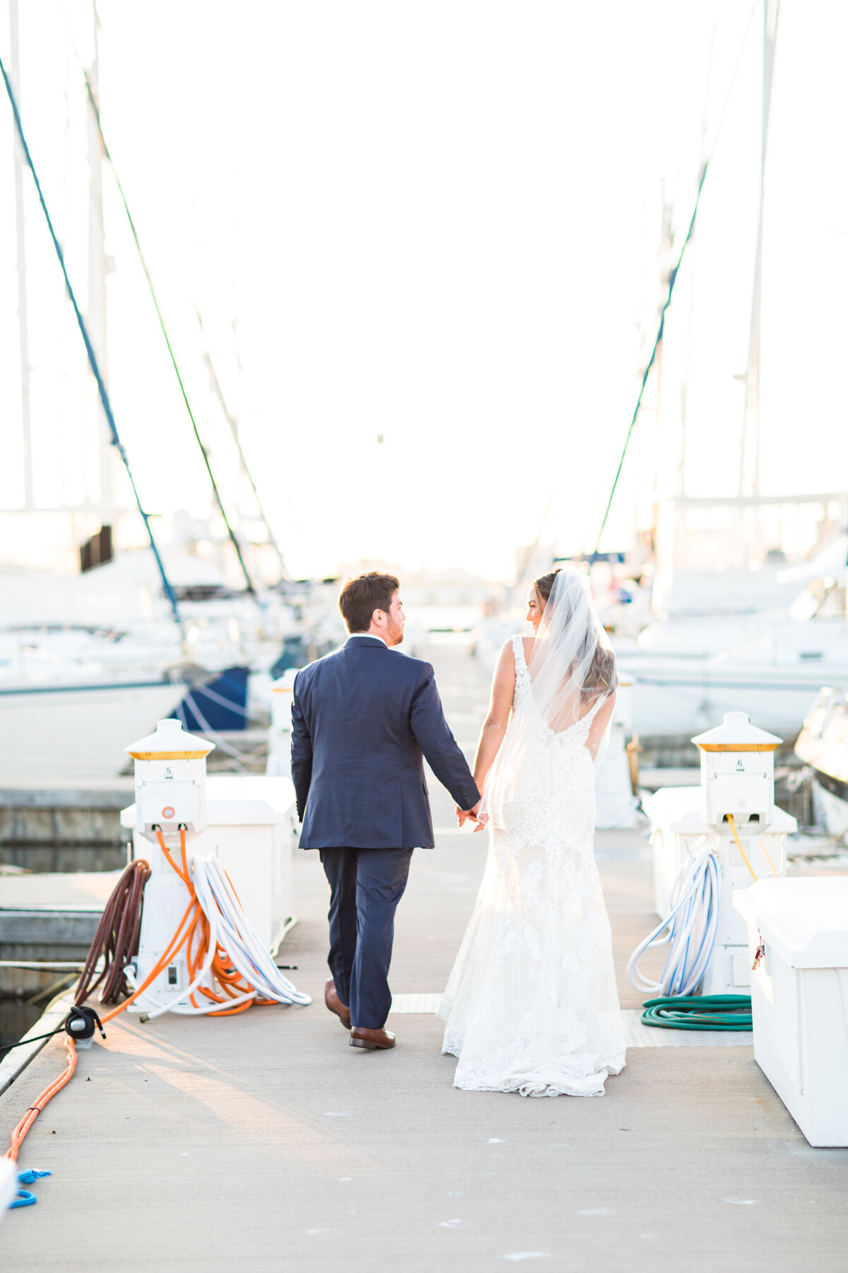 Hannah and Alex - Charleston Harbor Resort & Marina - Husband and Wife Portraits  - 003