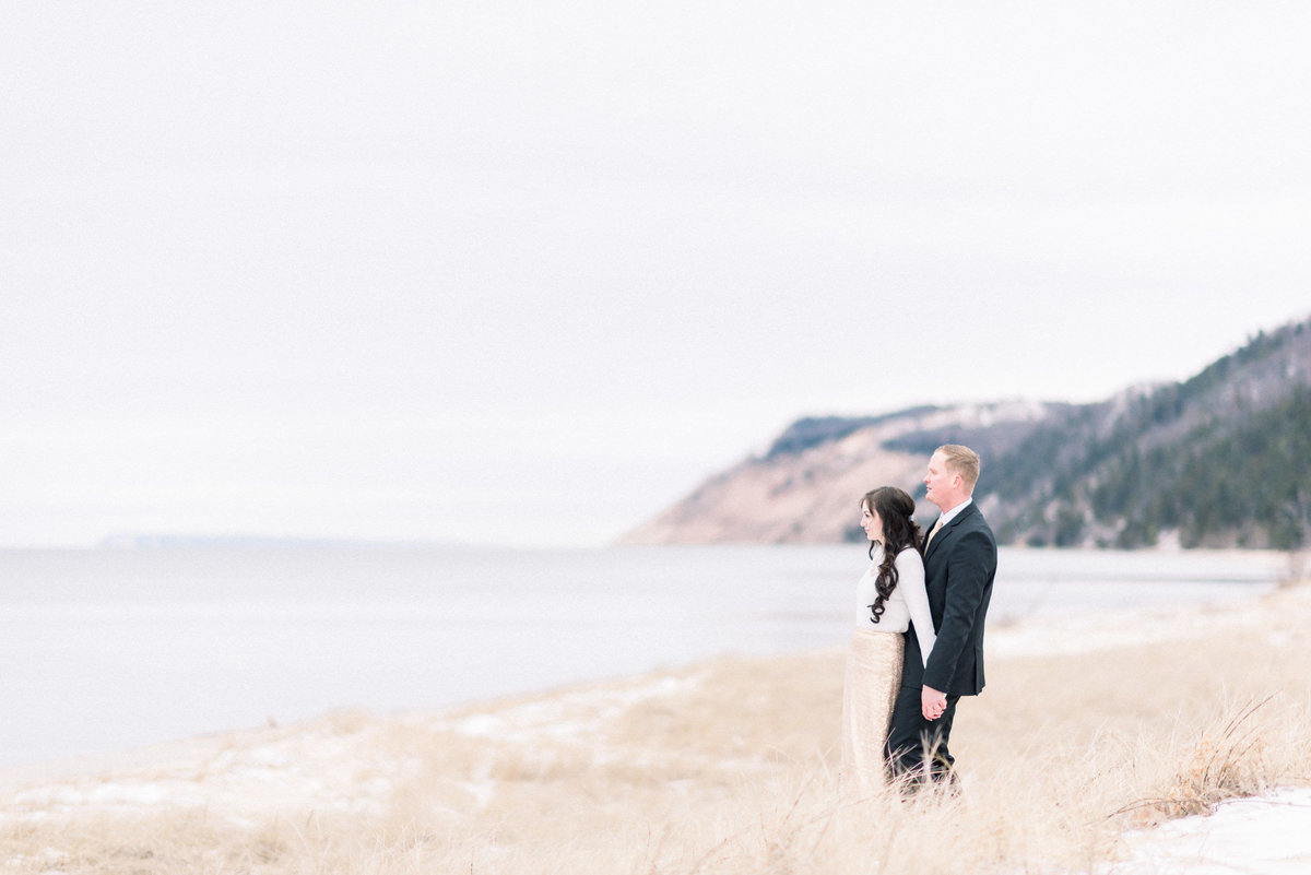 Traverse City engagement photography