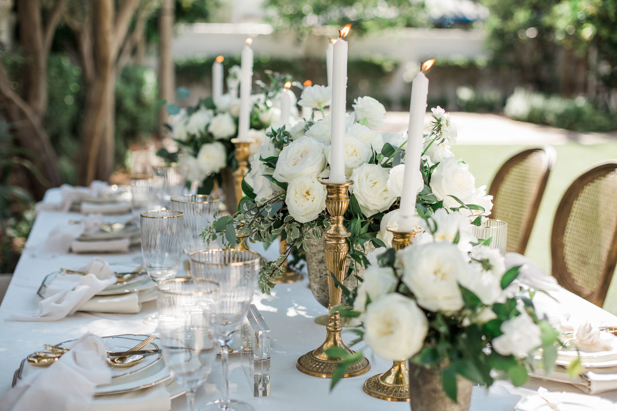 outdoor wedding, table details