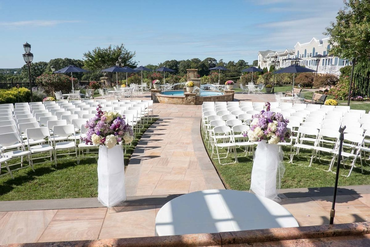 Views of the ceremony at Giorgio's Baiting Hollow