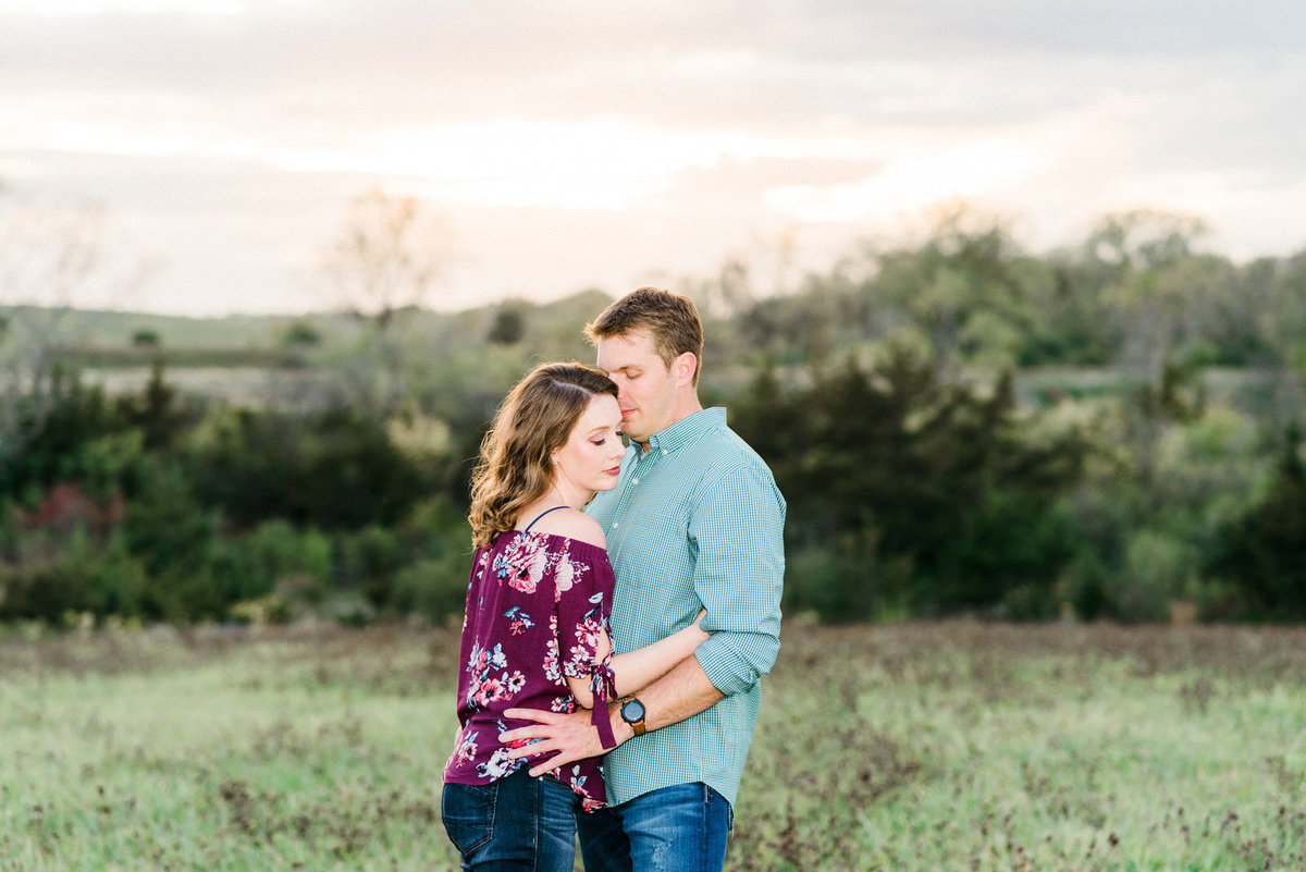 Mason City Iowa Engagement Session Nicole Corrine Omaha