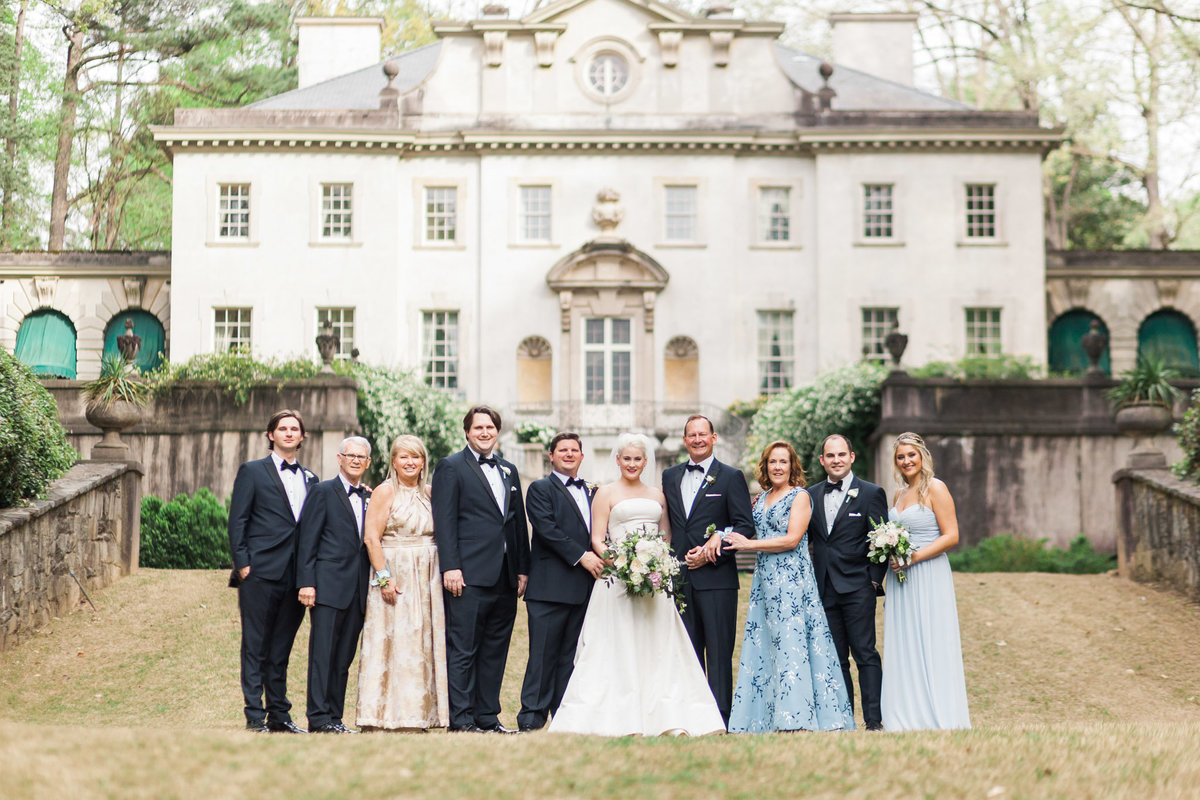 """Family portraits are a moment in history that you can never get back. They are so important."" says luxury wedding photographer Rebecca Cerasani."