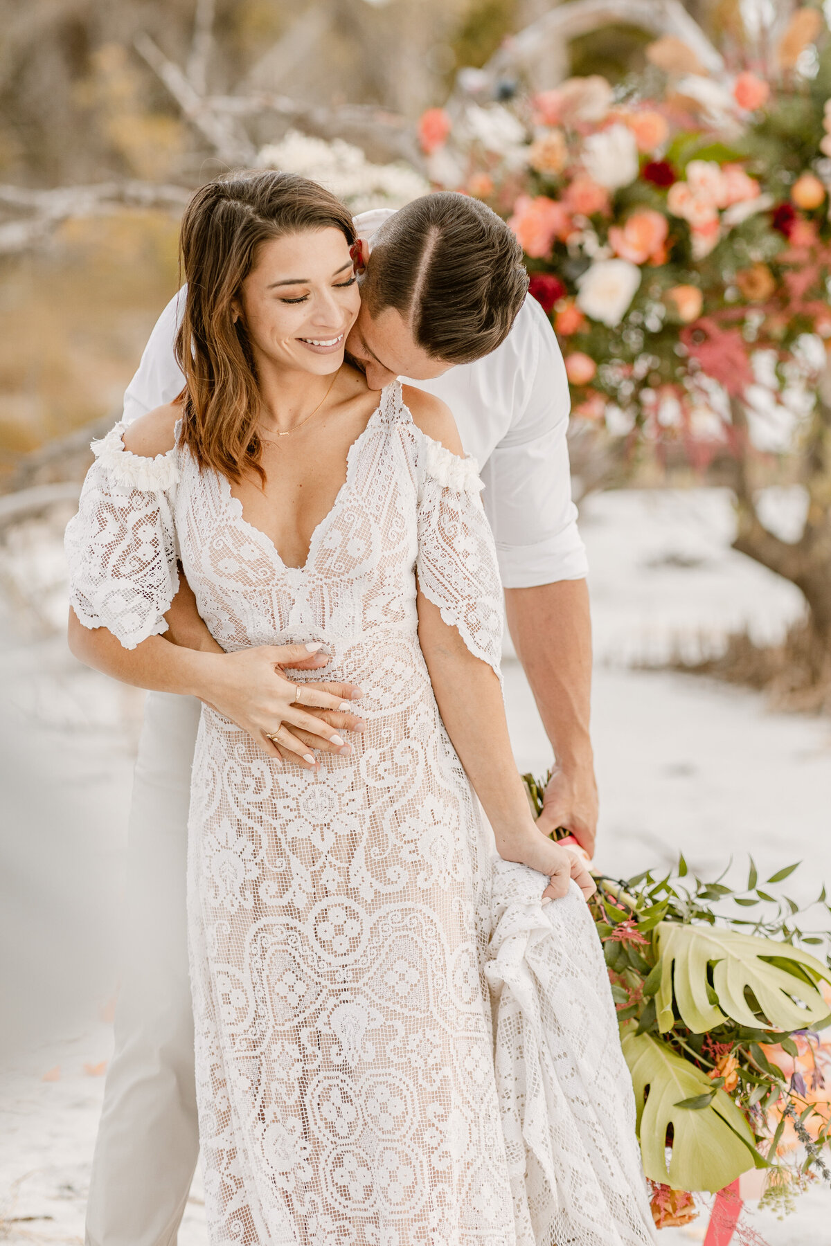 Beach Elopement in Saint Petersburg, Florida 14
