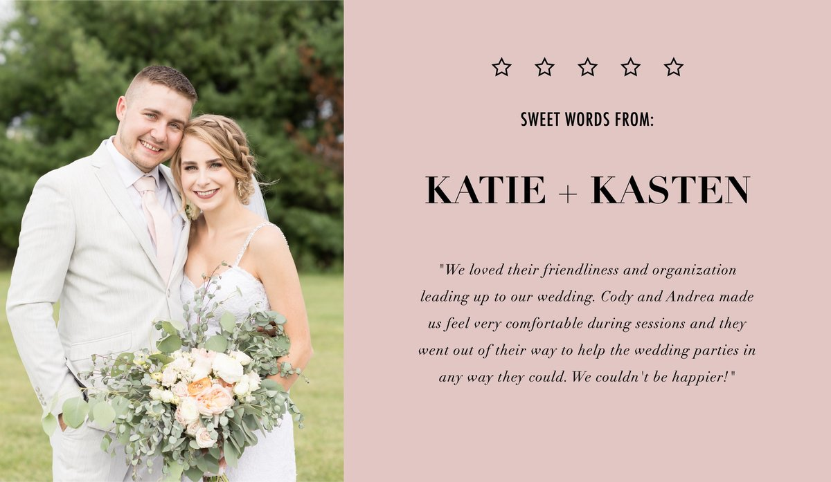 Katie and Kaston review
