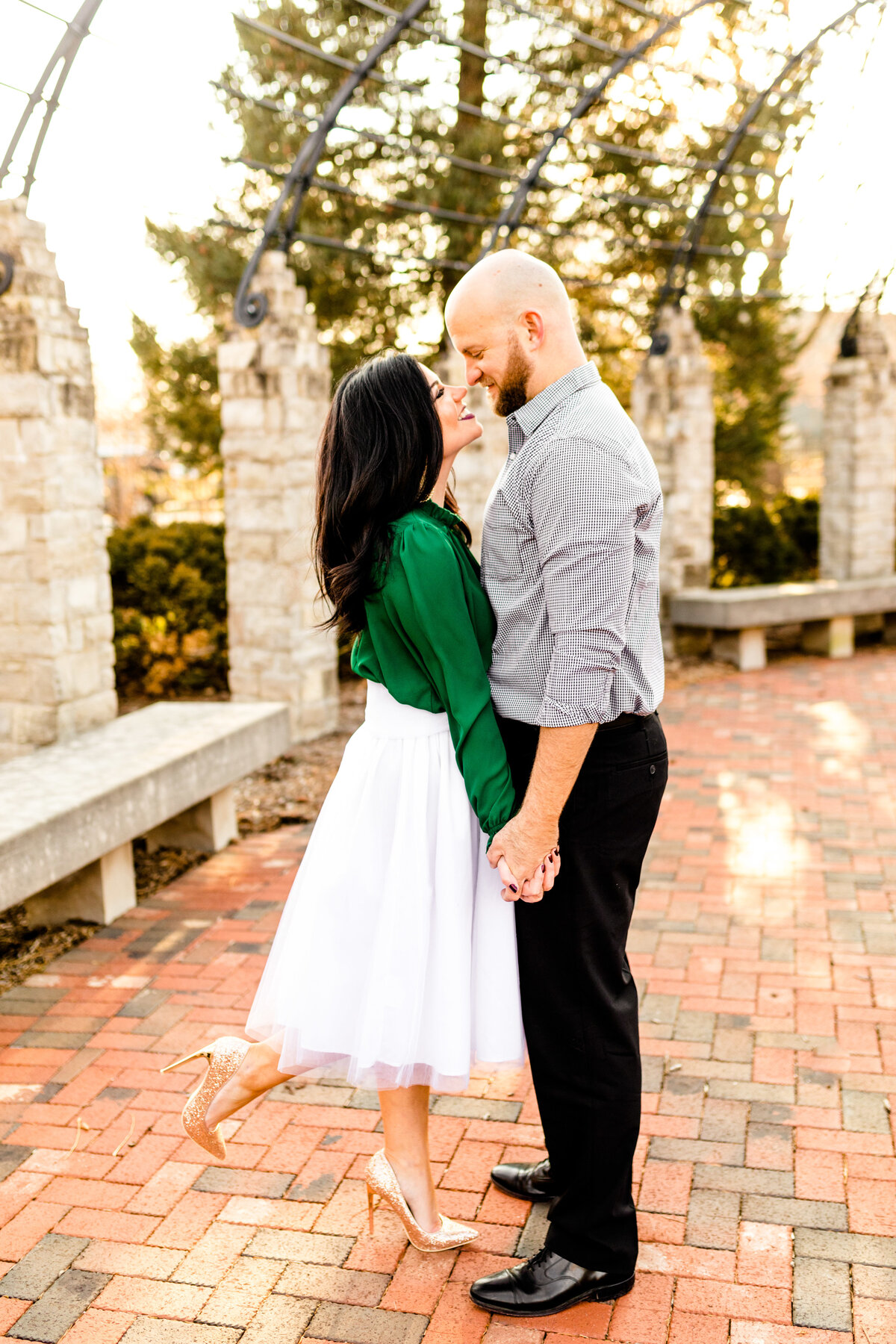 Caitlin and Luke Photography Wedding Engagement Luxury Illinois Destination Colorful Bright Joyful Cheerful Photographer 399