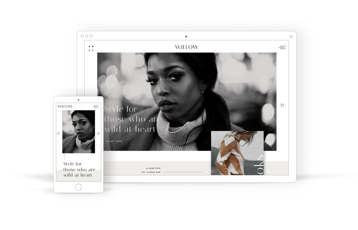 Fashion Blog Template and LIfestyle Blog Website Template