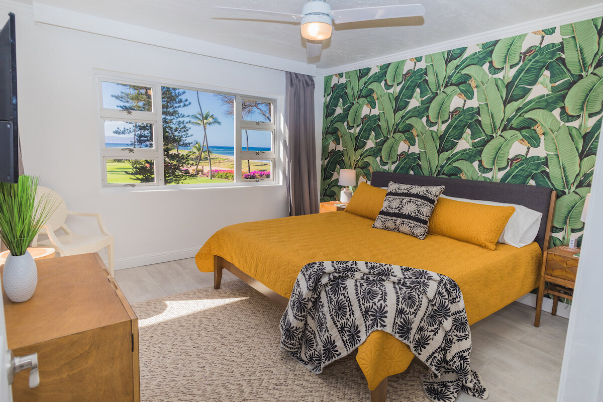 Maui Real Estate Photography -  Master Bedroom