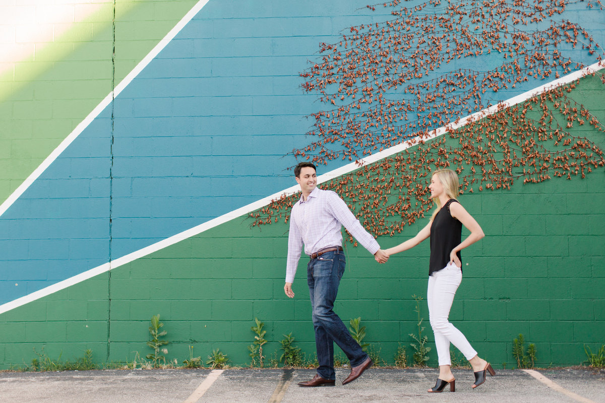 Indianapolis War Memorial Downtown Engagement Session Sunrise Sami Renee Photography-36
