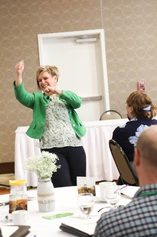 Katie Dilse Keynote Breakout Speaker Speaking Motivational Corporate Conference Midwest Event3