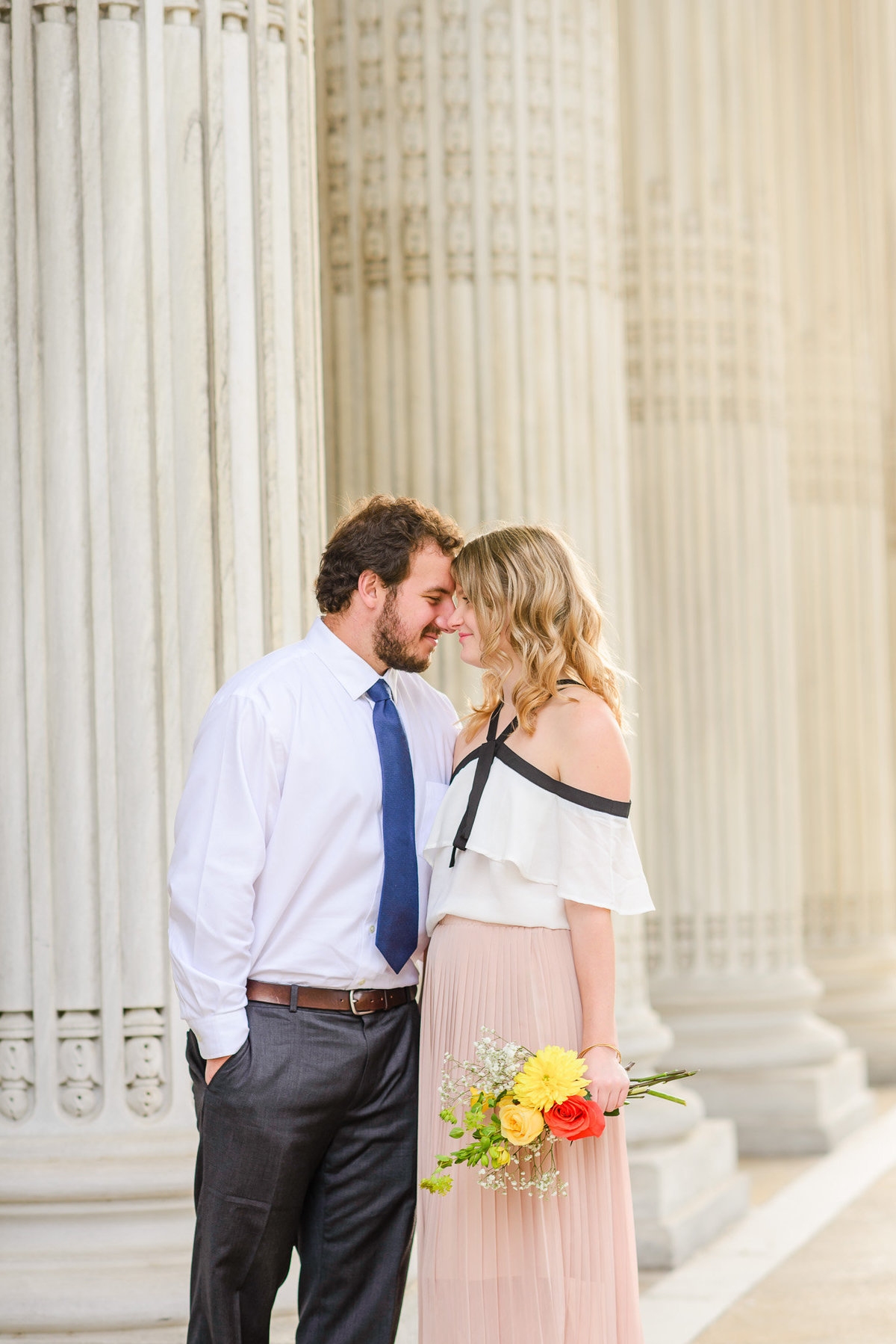 DC Sunrise Engagement Session-DAR Constitution Hall (41)