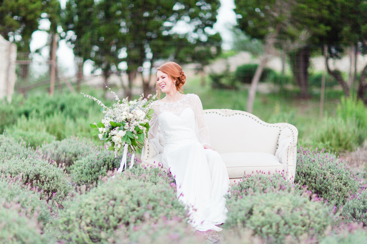 rancho mirando lavender field wedding photos