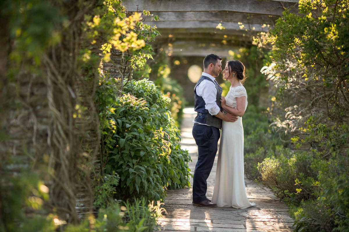 summer wedding at Hestercombe Gardens in Somerset