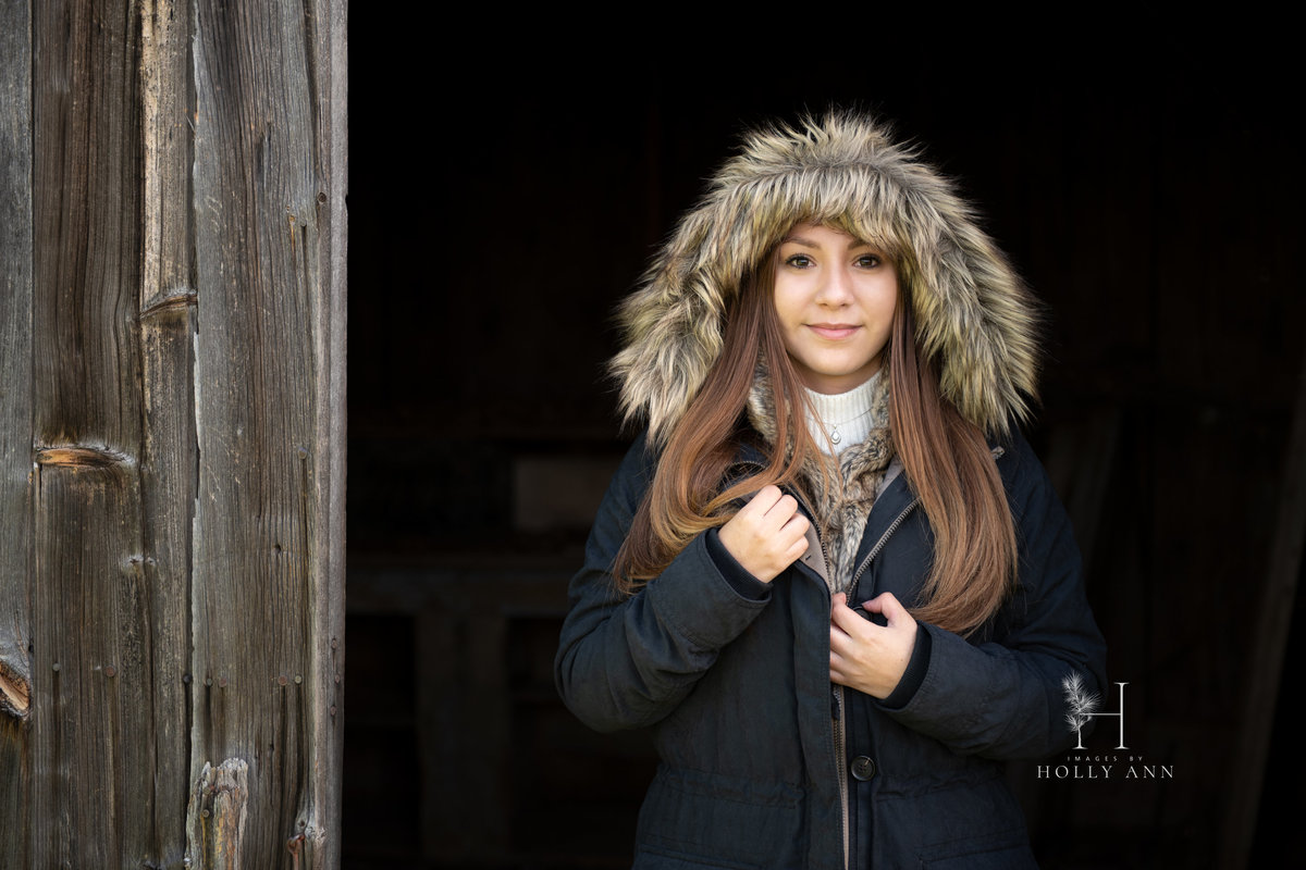 fall outdoor portrait session middleburgh ny