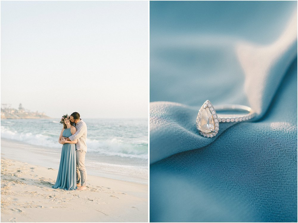 La Jolla California Beach Engagement Session-16