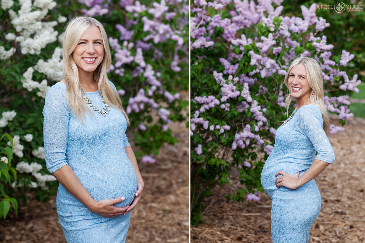 City-Park-Denver-Colorado-Maternity-Portraits-During-Spring-Blossoms-10