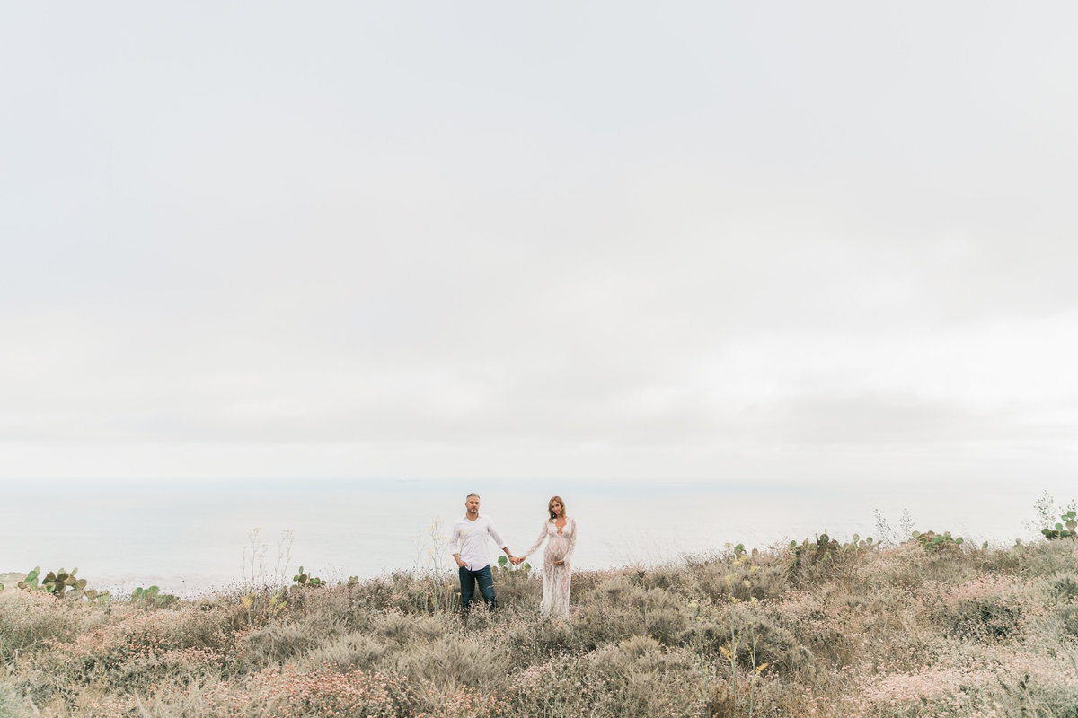 Southern California Coastline Maternity Session_Valorie Darling Photography-6439