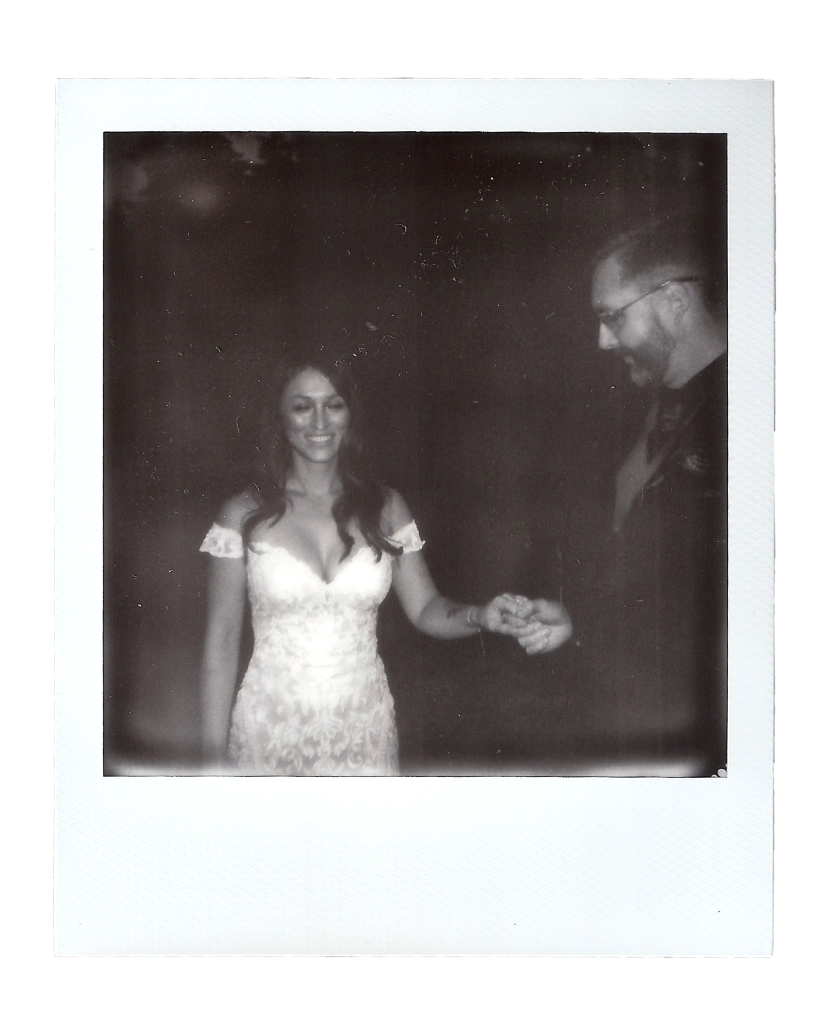Laura + Brett | Backyard Wedding Polaroids00008