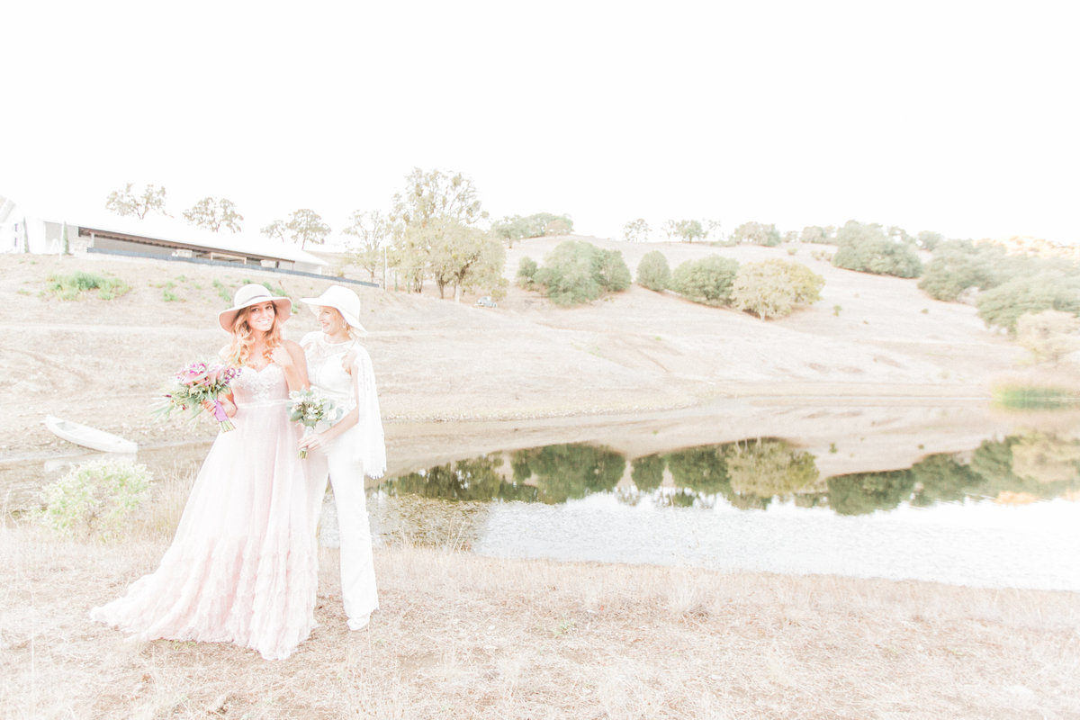 California Lake Wedding Photography