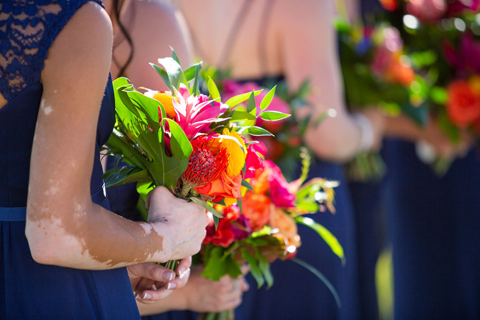 granby-colorado-Strawberry-Creek-Ranch-Wedding-Ashley-McKenzie-Photography-tropic-meets-mountain-wedding-colorful-tropical-bridal-bouquets