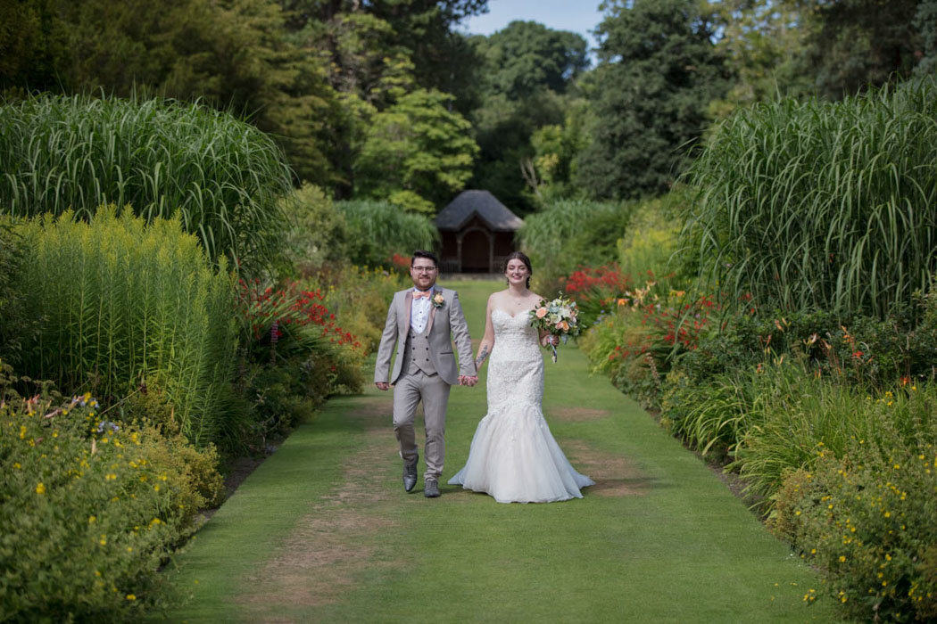 Couple at Bovey Castle wedding in Devon