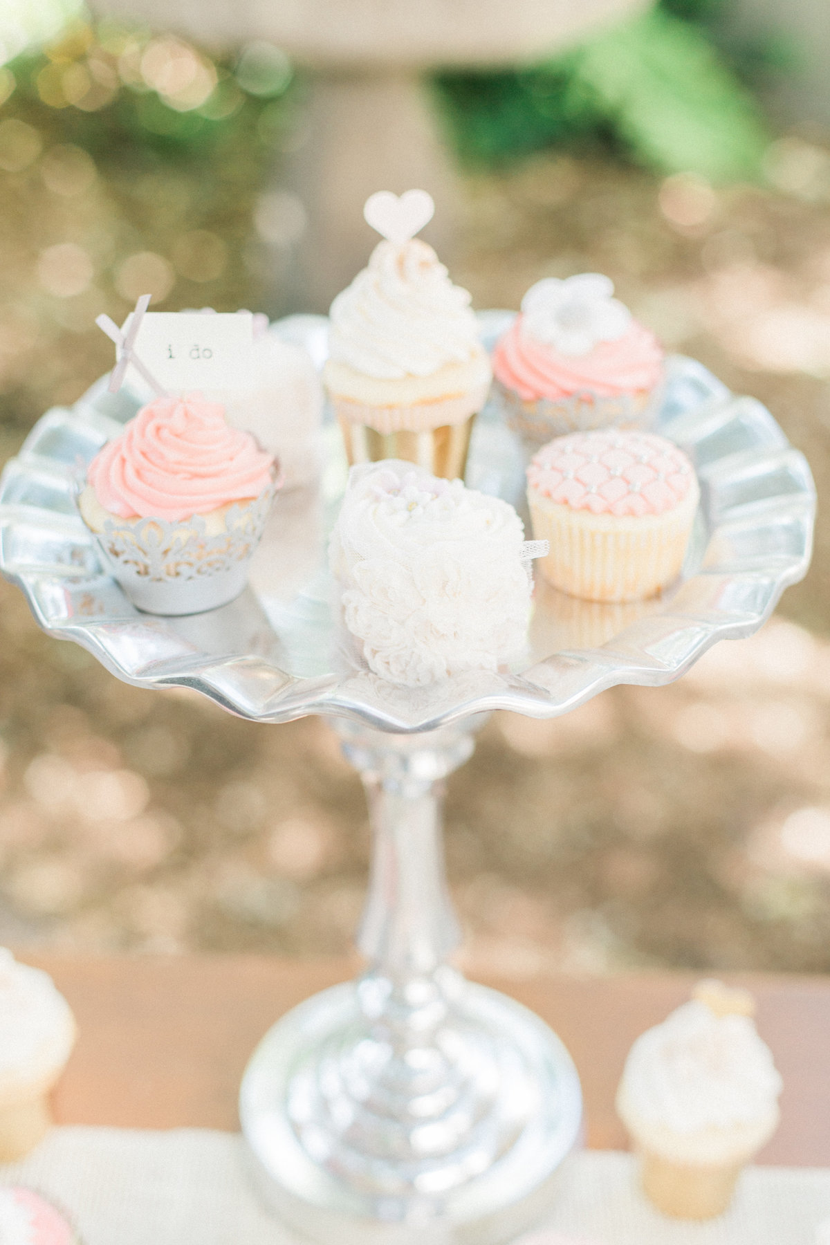 Lace Wedding Cupcakes Bellina Bakery
