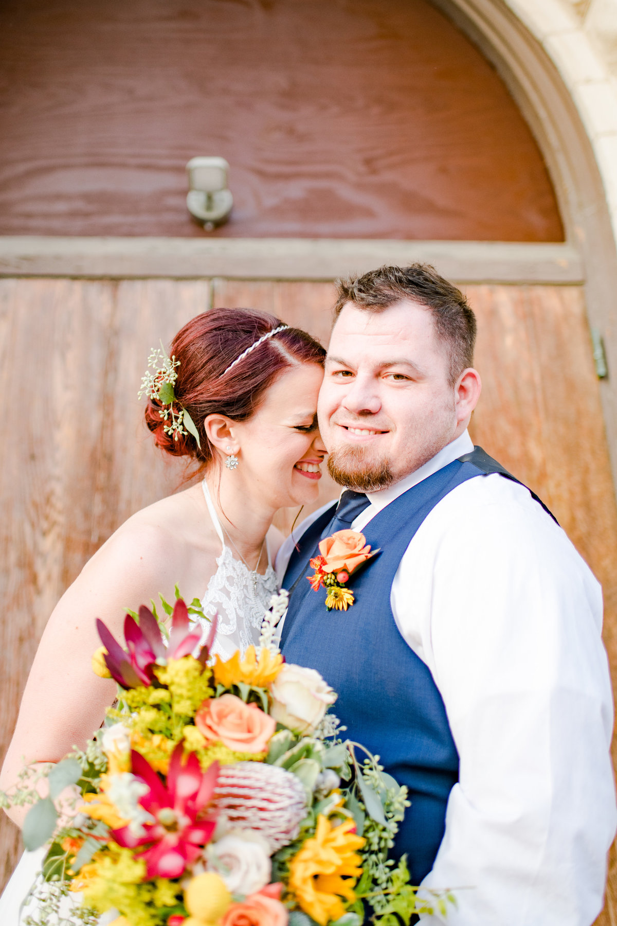 Urban Artifact Brewery Colorful Fall Wedding-180