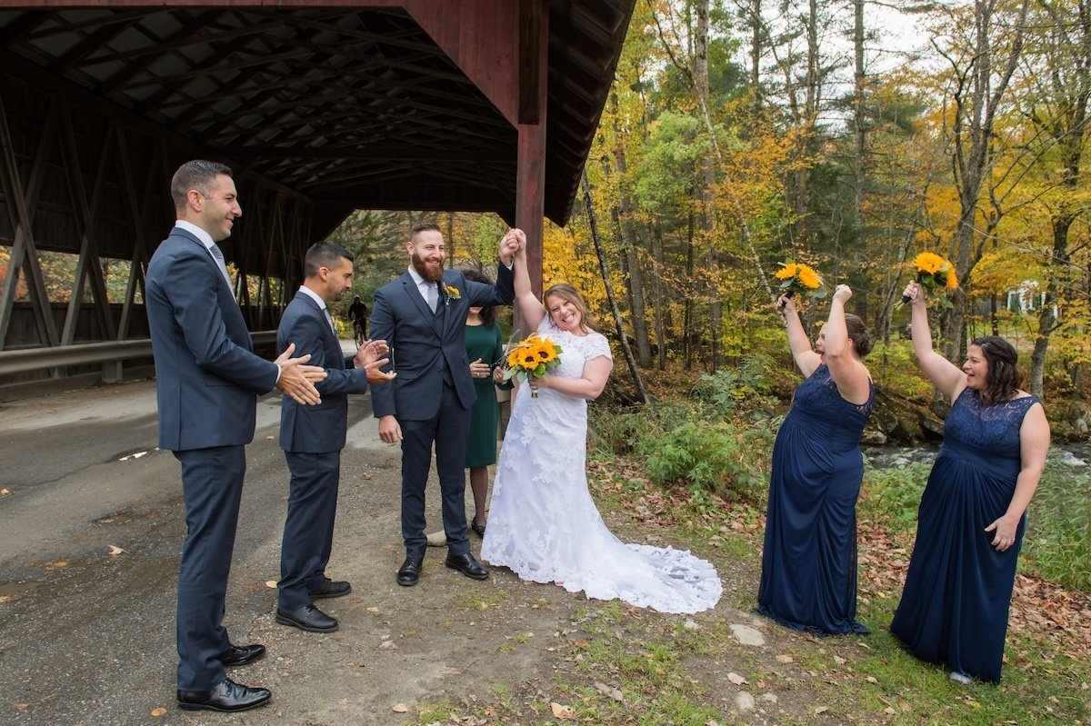 Stowe VT wedding photographer 2