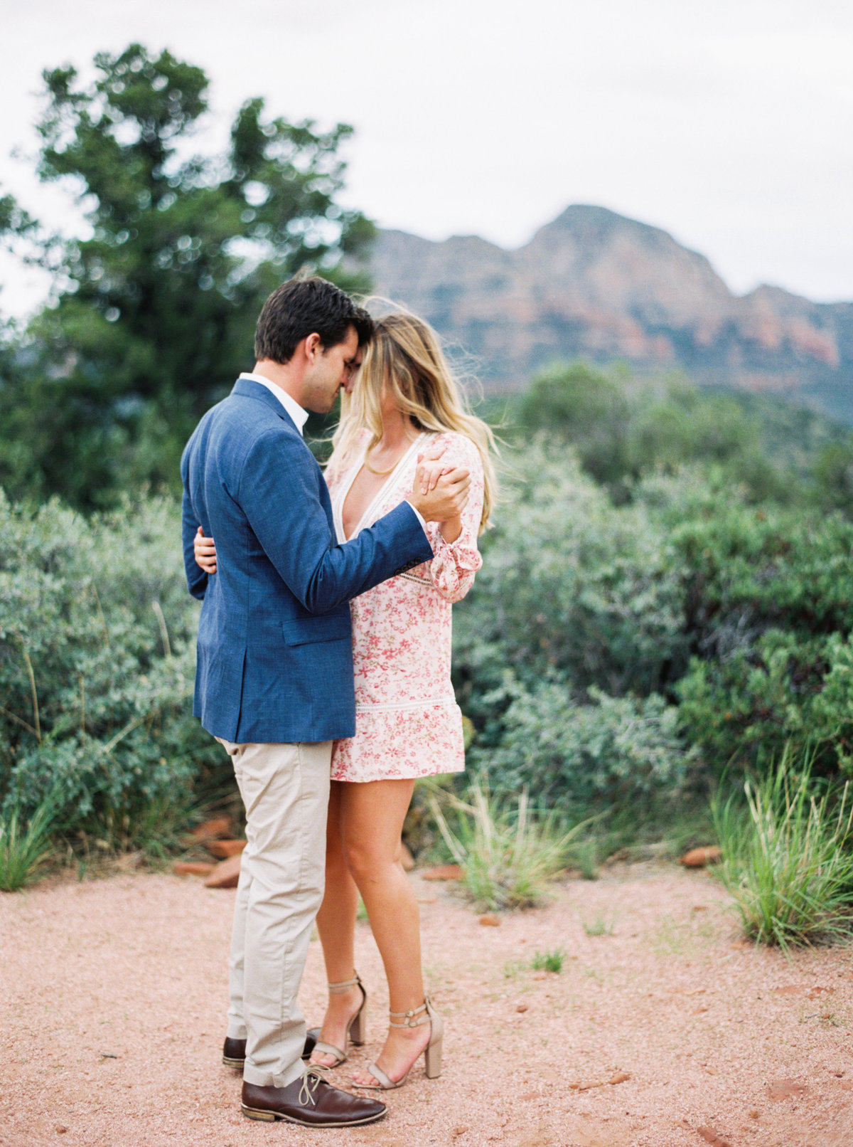 Sedona Arizona Engagement Session - Mary Claire Photography-16