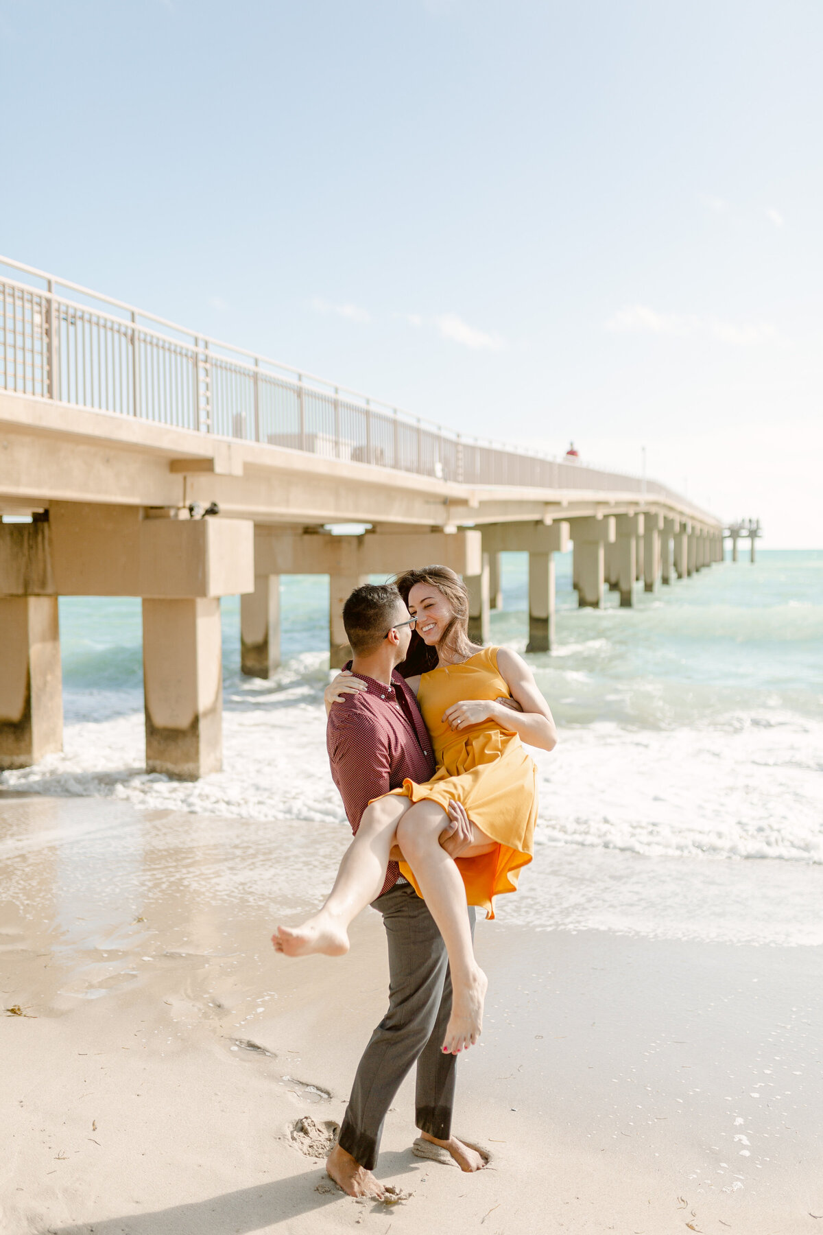 Sunny Isles Beach Engagement Photography Session 11
