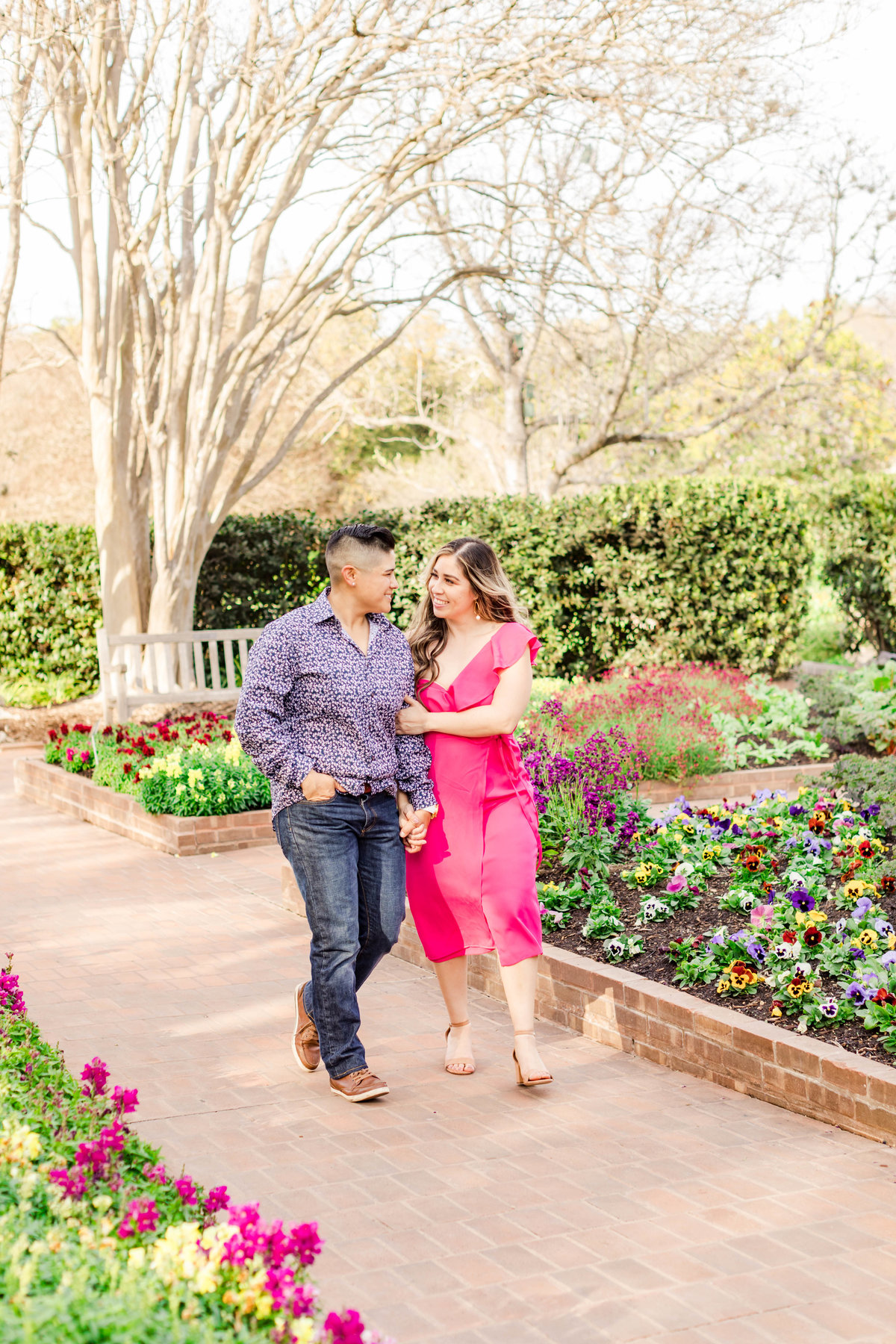 San Antonio Botanical Gardens_Alyssa + Cynthia Engagement Session-135