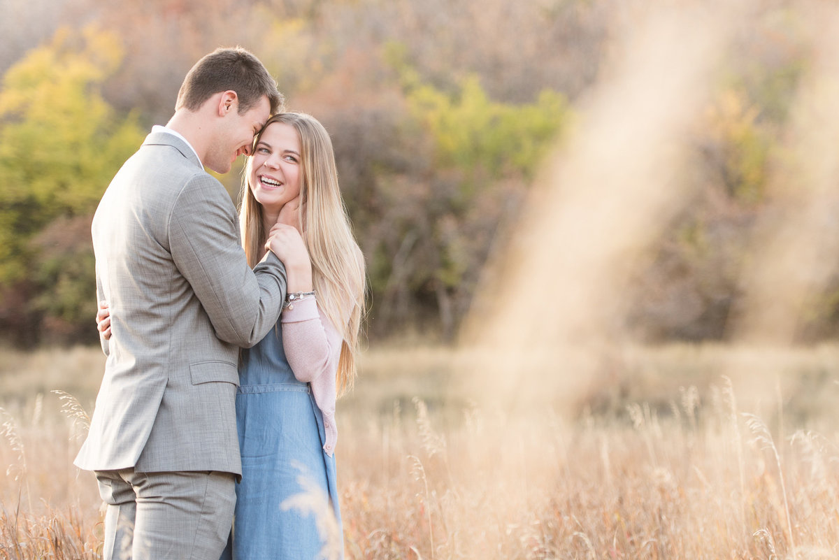 Layton Fall Engagement Photography - Utah Wedding Photographers-2