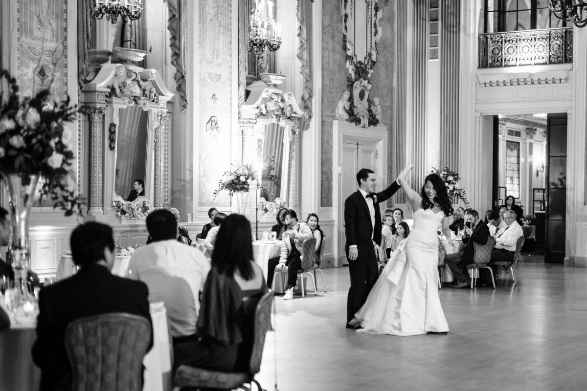 Bride and groom's first dance - Intercultural wedding photographer