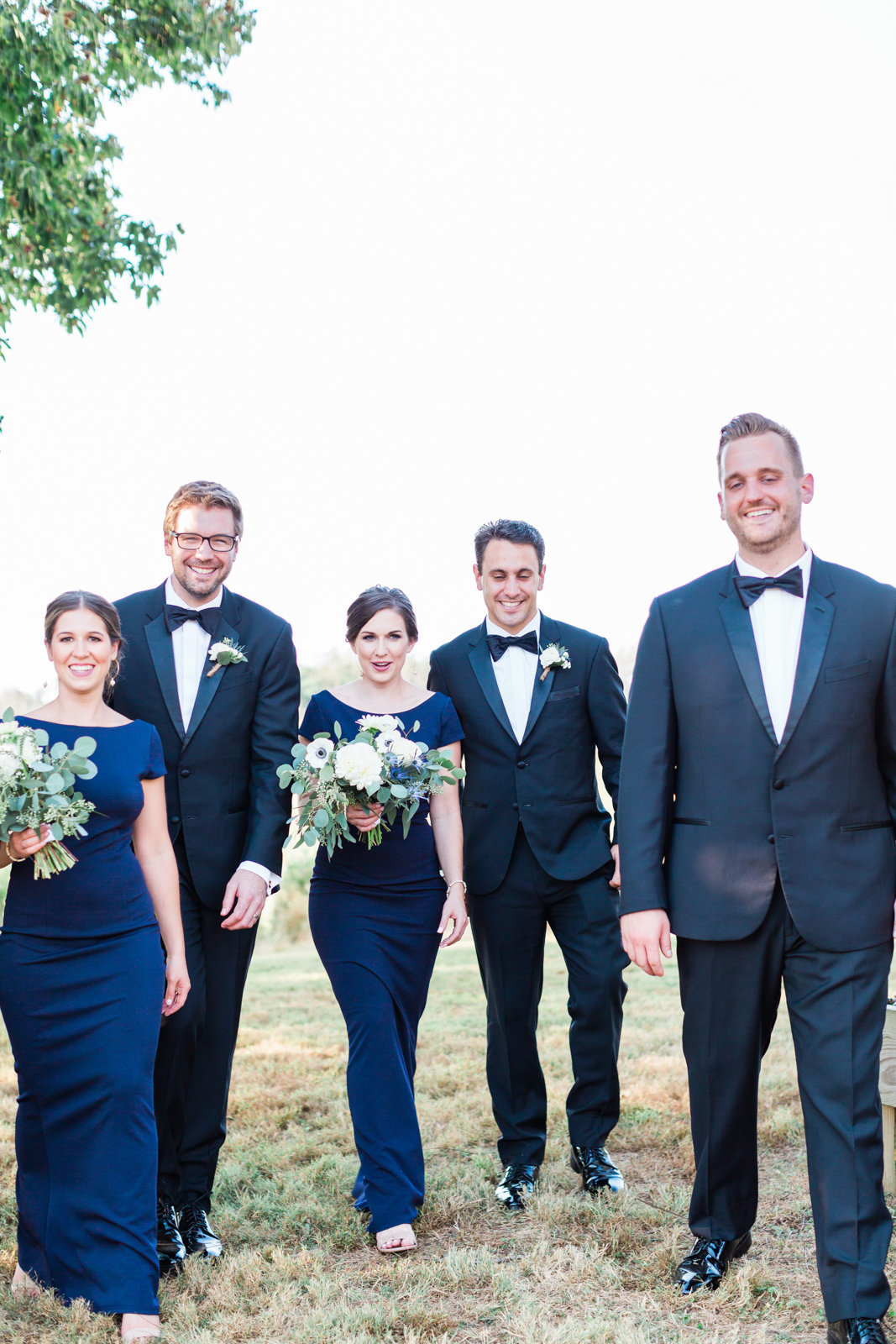Candid Bridal Party poses