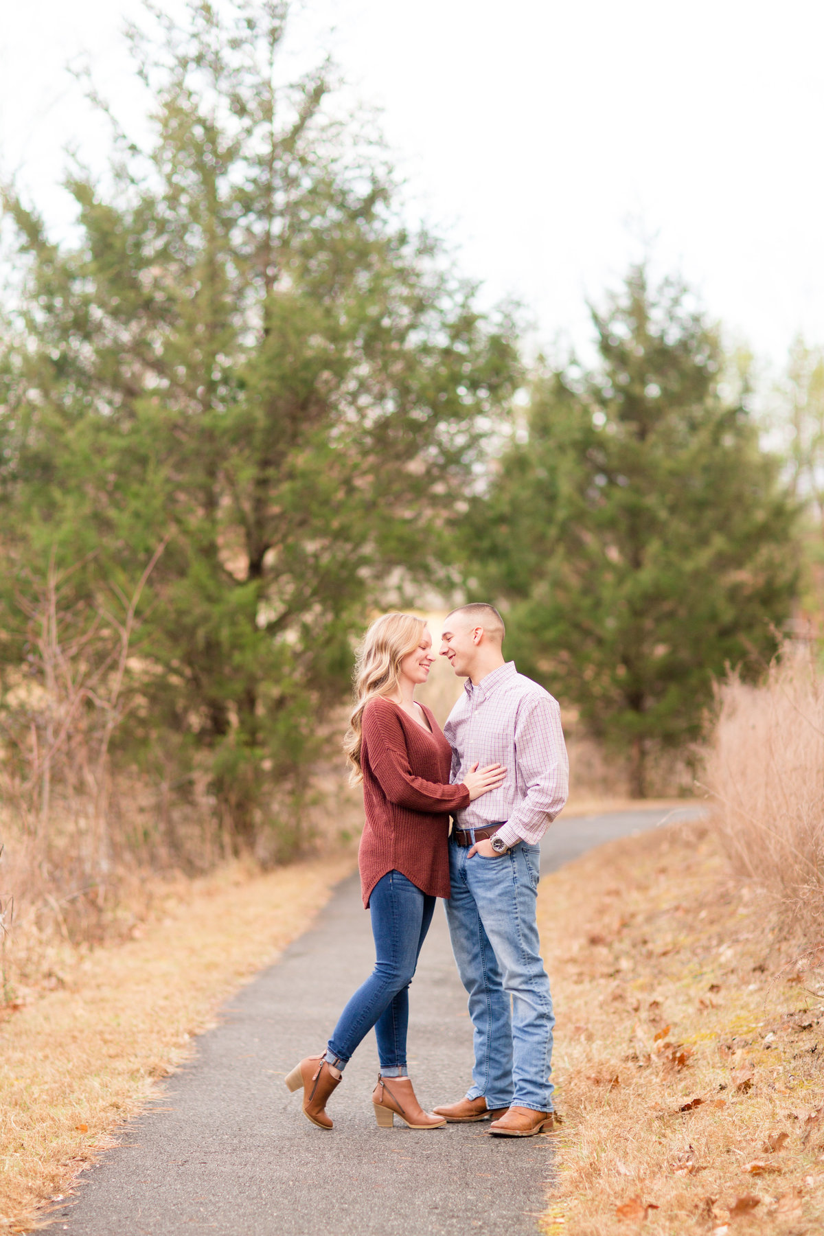 Stafford, VA engagement photography by Marie Hamilton Photography