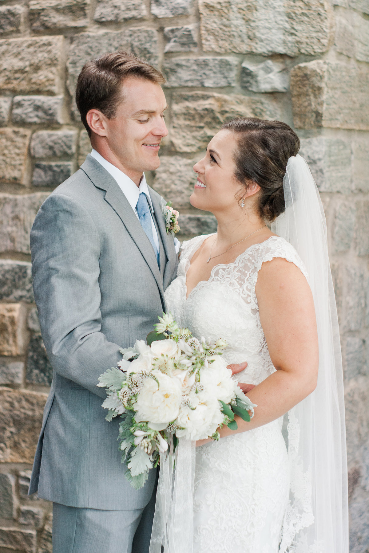Destination wedding ceremony photographed at Blowing Rock Country Club by Boone Photographer Wayfaring Wanderer. BRCC is a gorgeous venue in Blowing Rock, NC.