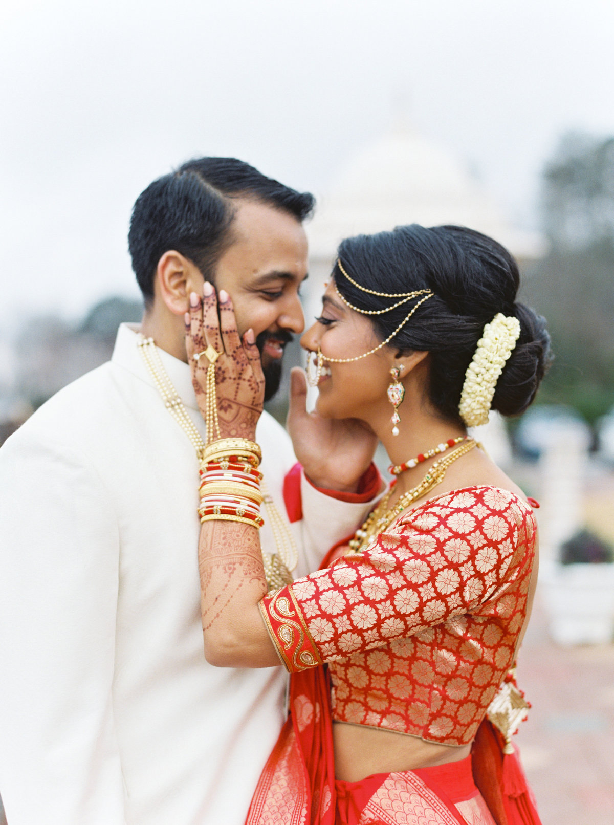 Madhuri + Gaurav Atlanta BAPS Mandir Southern Exchange Ballrooms Wedding 0108
