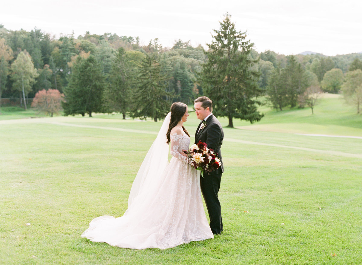 Biltmore Forest County Club fine art film wedding photographer photo
