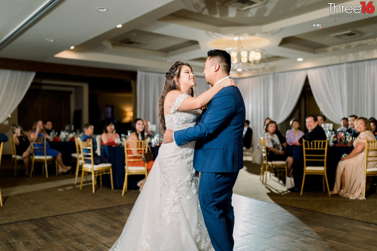Couple's First Dance as Husband and Wife