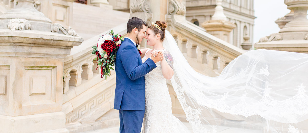 state-capital-building-wedding-portraits