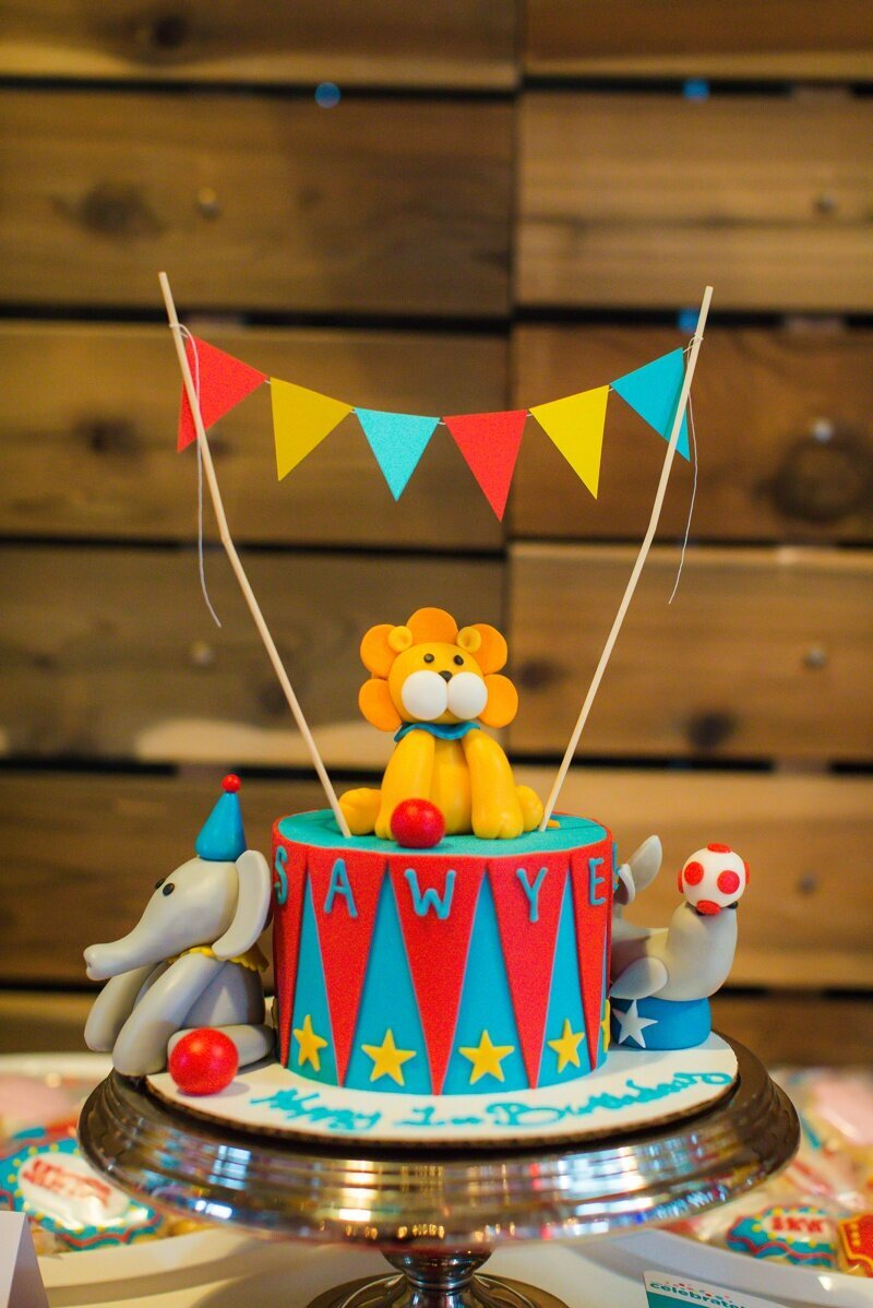 Circus Themed 1st Birthday Indianapolis Party Planner_0029