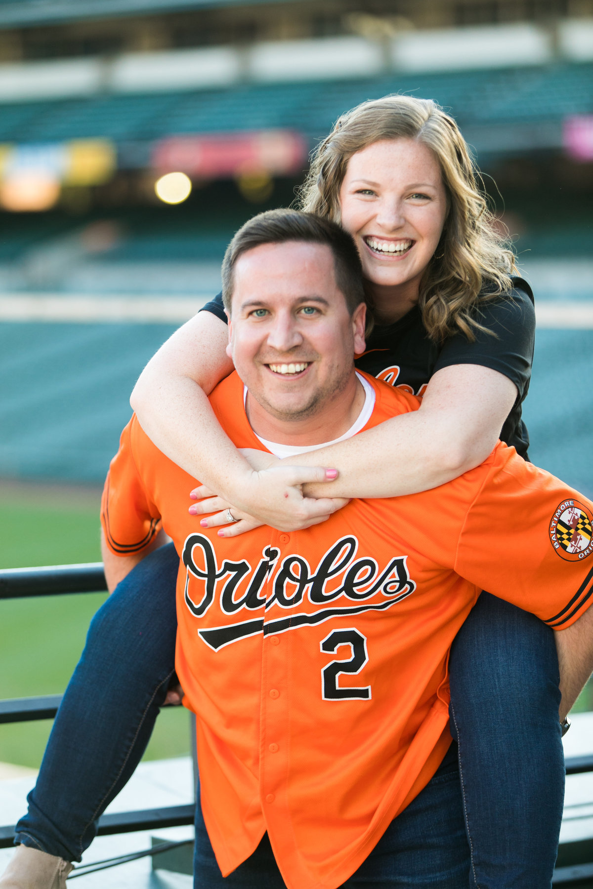 Oriole-Park-Engagement-photos