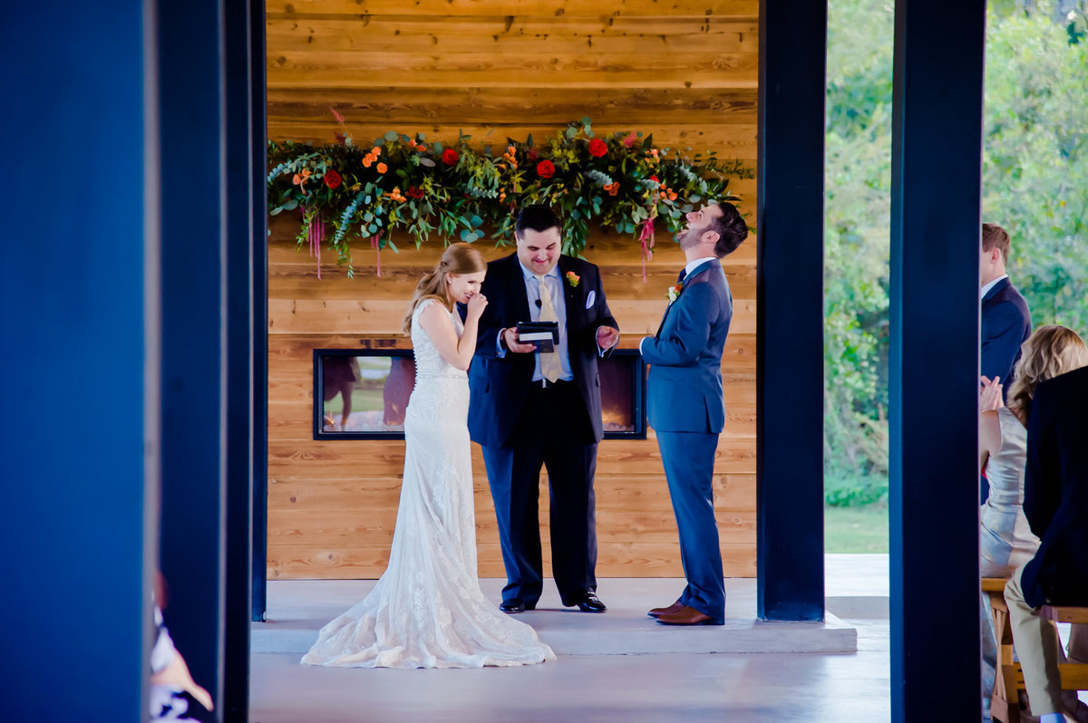 Morgan Creek Barn ceremony