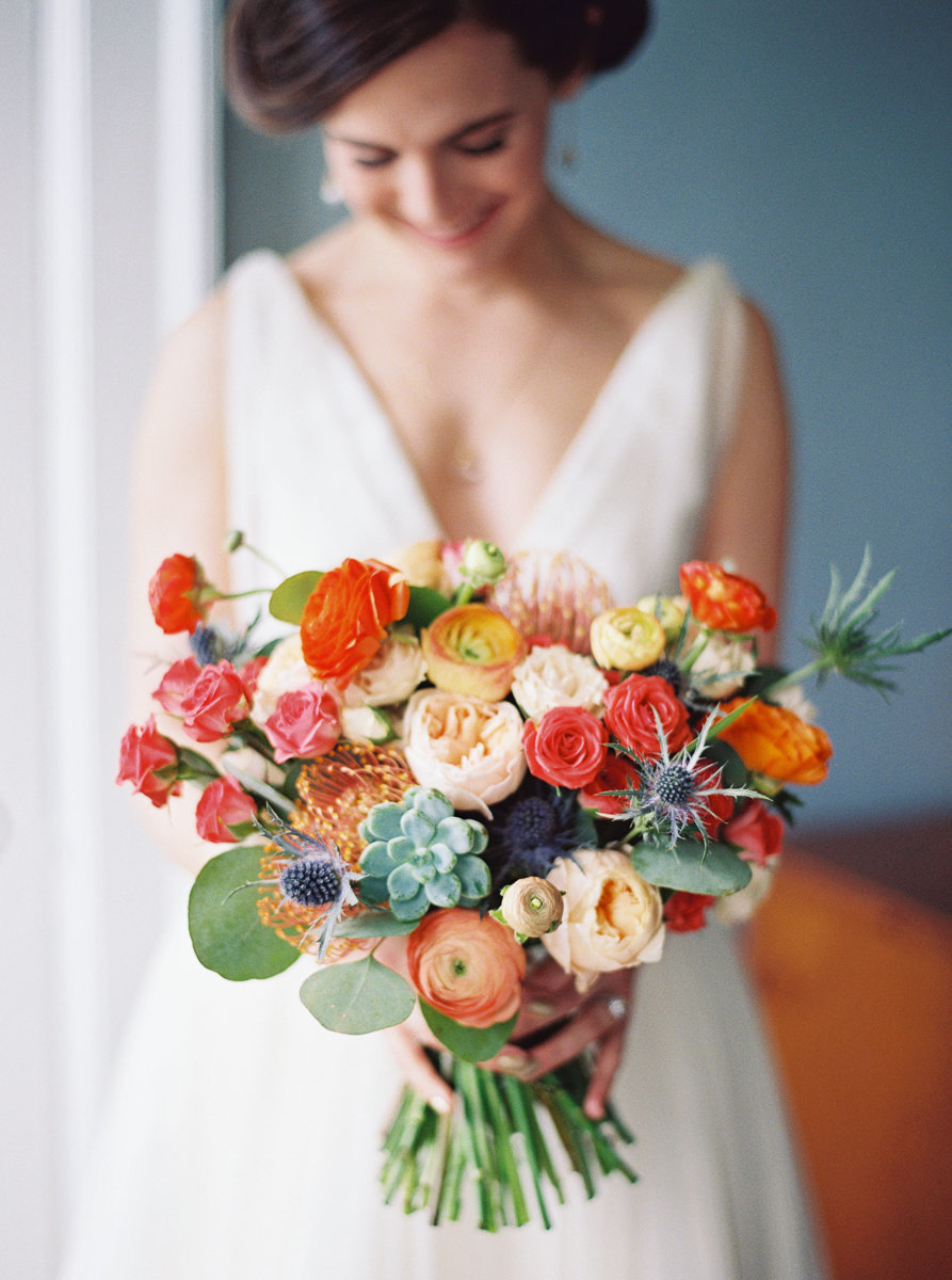 Bridal bouquet by The Proper Petal