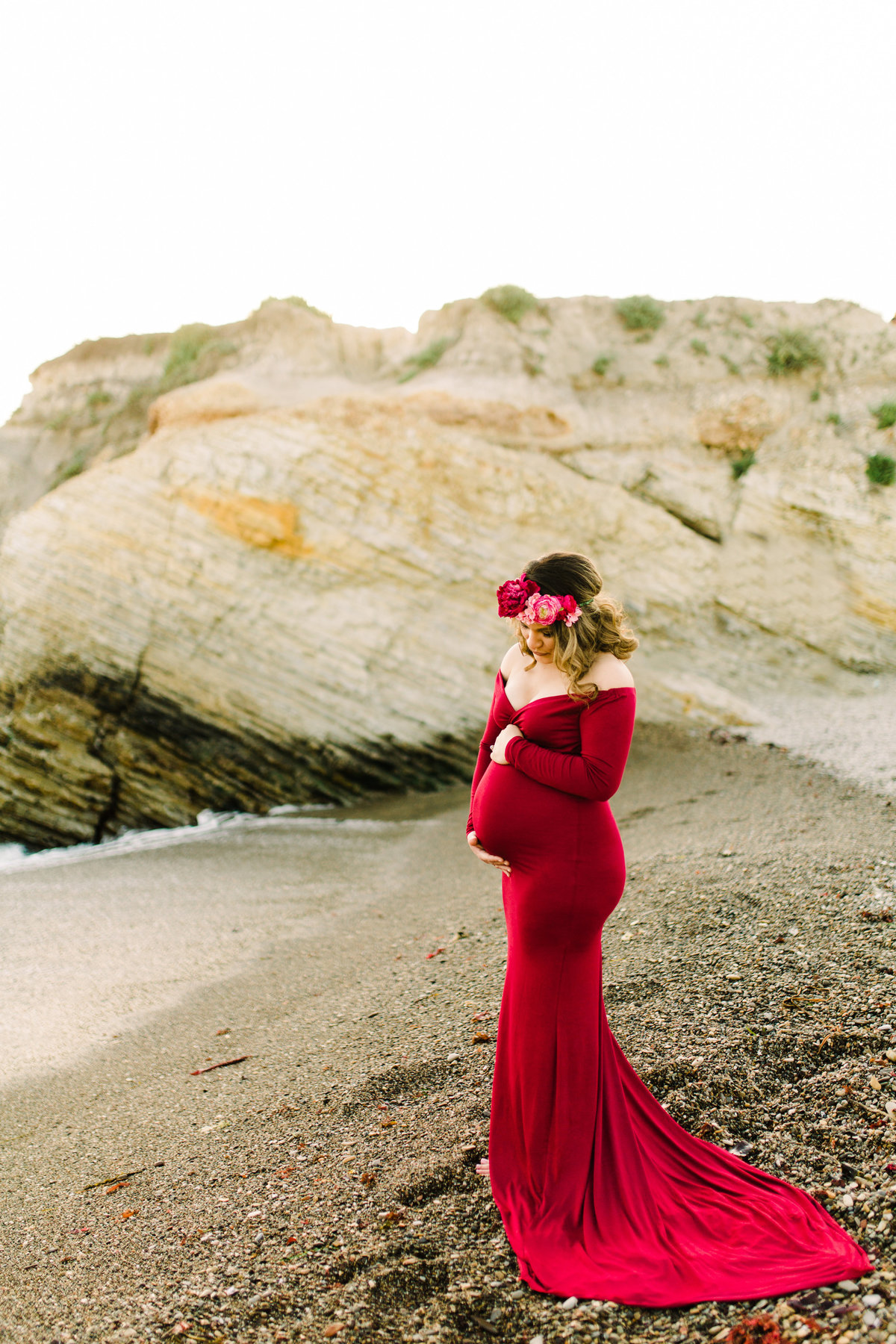 maternity photos in montana de oro