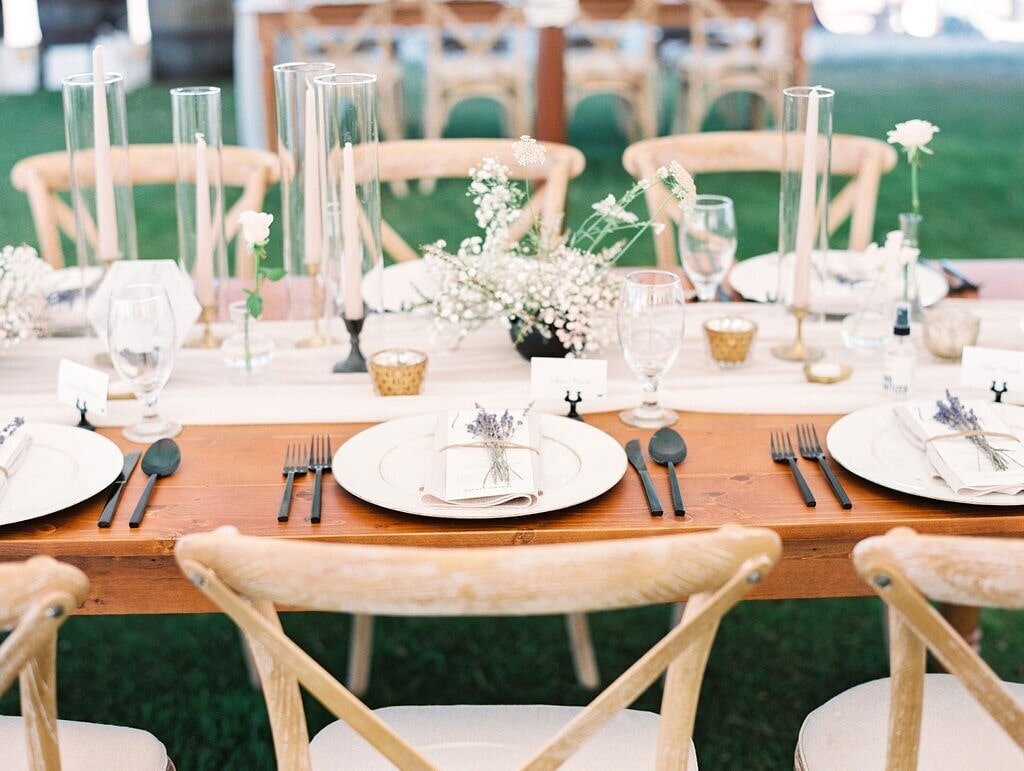 Bay Harbor Beach Wedding Reception Table-min